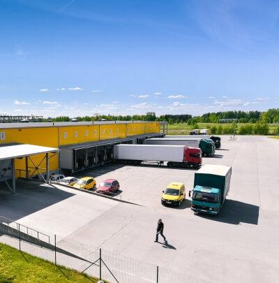Plienciema logistics complex